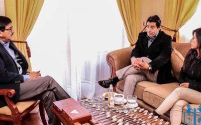 Jefe provincial de la Conaf visita Las Cabras