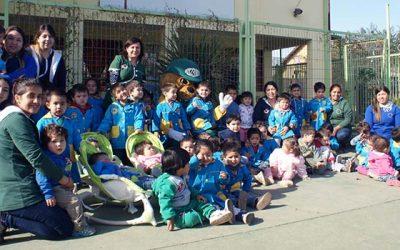 La Conaf celebra el día de la tierra con Forestín en jardín Las Cumbres de Rancagua