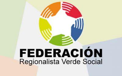 Lanzan oficialmente el partido Federación Regionalista Verde Social