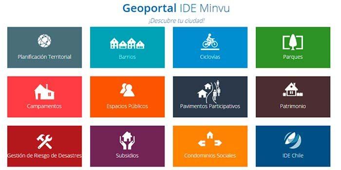 Lanzan sitio web con información georreferenciada de los planes y programas Minvu