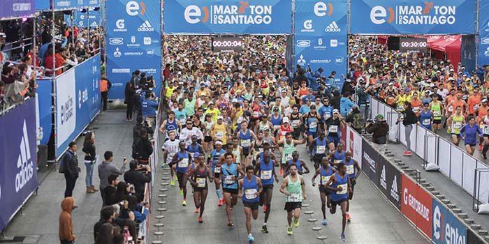 Los mejores corredores de la Región de OHiggins en el Maratón de Santiago