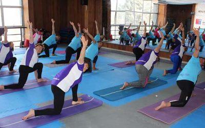 Más de 600 personas participaron en la celebración del día nacional del deporte