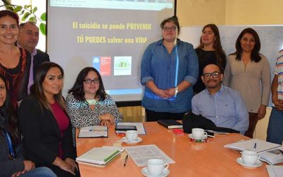 Mesa regional de prevención del suicidio lanzó sitio Web