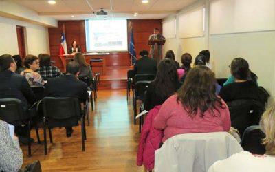 Mujeres de programas del Sernameg participan en charla y visita guiada en Corte de Apelaciones de Rancagua