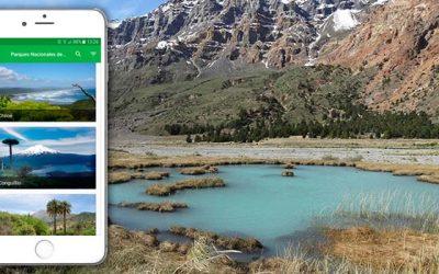Nueva aplicación móvil ayuda a planificar y disfrutar de los parques nacionales