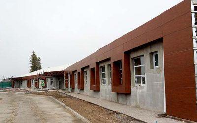 Nuevo Hospital de Chimbarongo presenta un avance en su construcción sobre el 86