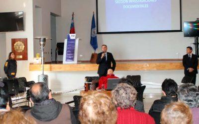PDI efectúa charla a adultos mayores en Rancagua