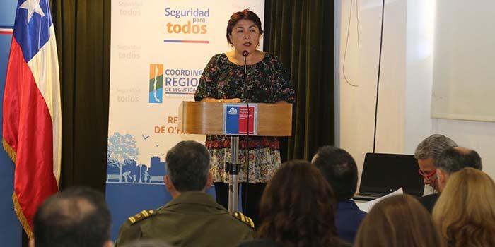 Plan Regional de Seguridad Pública establecerá estrategias de trabajo para la Sexta Región