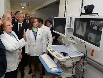 Presidenta Bachelet en visita a la Región Hoy es un día histórico para la Salud en OHiggins
