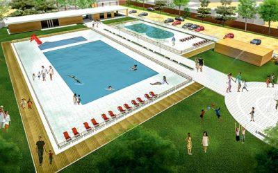 Reposición de la piscina municipal de San Fernando