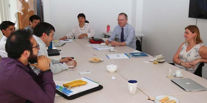 Representantes de la Universidad de Southampton de Inglaterra visitan la UOH