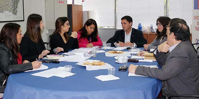 Reunión de comité ejecutivo para erradicar trabajo infantil