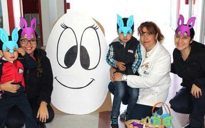 Salud Machalí conmemora la pascua de resurrección informando los beneficios del huevo cocido