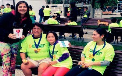 Senda Previene Rengo realiza campaña preventiva en corrida familiar