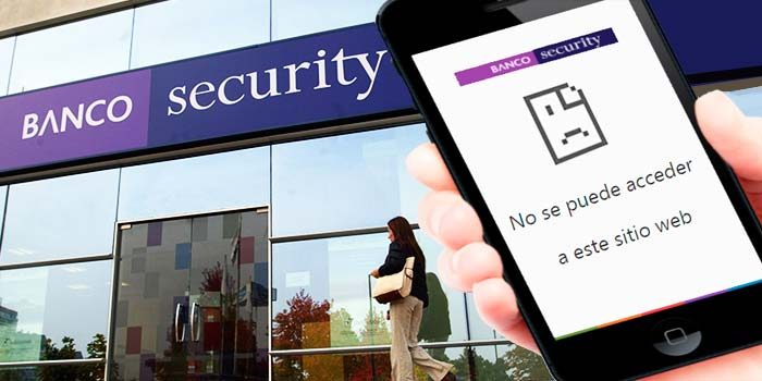 Sernac demanda colectivamente a Banco Security por fallas en su sitio web