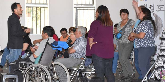 Vecinos de sector oriente de Rancagua conocieron programa de conservación de parques urbanos