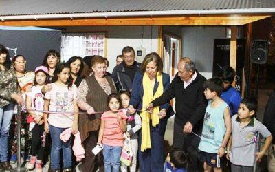 Vecinos de villa Cordillera cumplen un sueño al inaugurar su nueva sede social