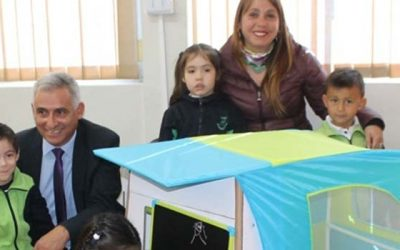 3929 niños de prekinder recibirán Rincón de Juegos de Chile crece contigo