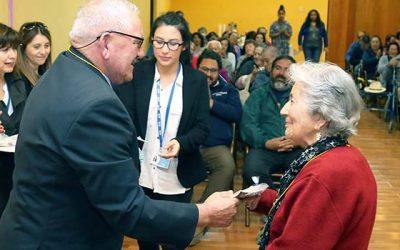 Adultos mayores de San Fernando inician participación en el programa Vínculos