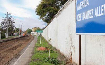 Arreglo total recibirá avenida José Ramírez de Rengo