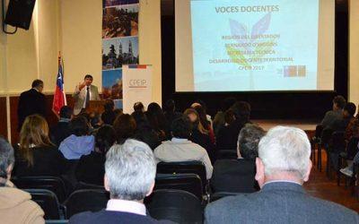 Autoridades de educación lanzaron libro Voces docentes de la Región de OHiggins