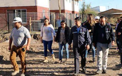 Avanza construcción de Los Horacios y Nuevo Amanecer en Santa Cruz