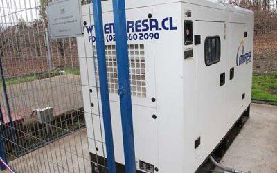 CGE Distribución entrega dos generadores de respaldo que beneficiará a APR de Codegua