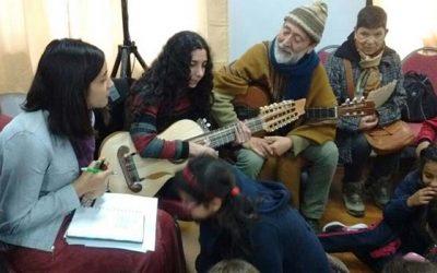 Con Violeta Parra como protagonista comenzó la semana de la educación artística