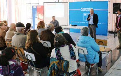 Con participación de dirigentes sociales se desarrolla una nueva Escuela de Formación Ciudadana en Colchagua