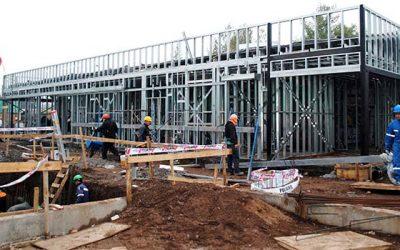 Construcción del Cecosf de angostura presenta un 50% de avance