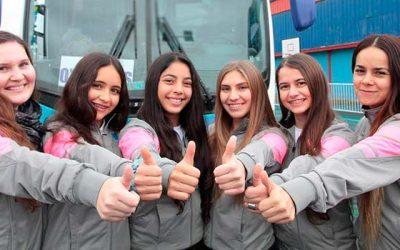 Deportistas de OHiggins comienzan su participación en los Juegos Nacionales y Paranacionales 2017