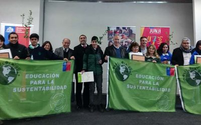 Establecimientos educacionales de Cachapoal reciben Certificación Ambiental SNCAE 2016