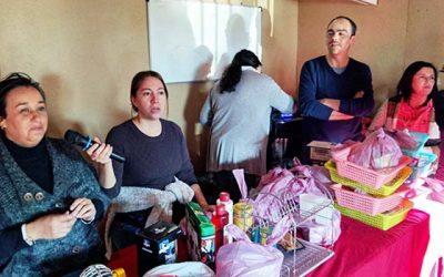 Funcionarios del Juzgado de Familia de San Fernando realizan actividad solidaria en sector La Rivera