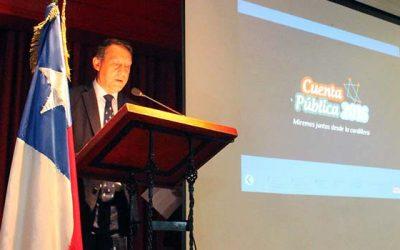 Gestión pública 2016 realiza el alcalde de Machalí