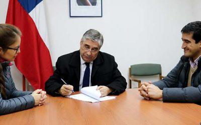 Gobernación de Colchagua firma contrato que dará inicio a reparación de plantas de tratamiento de aguas servidas