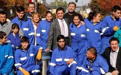 Inauguración de cooperativa de trabajo inclusivo