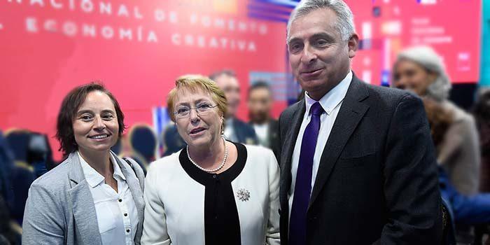 Intendente y directora regional de Cultura presentes en lanzamiento del plan nacional de fomento a la economía creativa