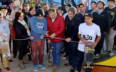 Jóvenes sanfernandinos ya cuentan con su anhelada cancha de skate