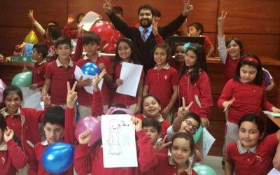 Juzgado de Letras y Familia de San Vicente realiza visita guiada a estudiantes de colegio Nehuén