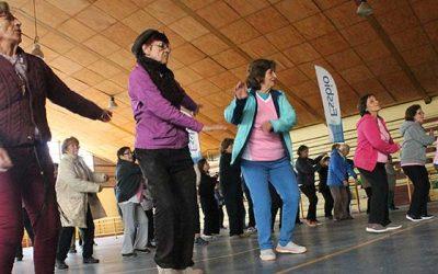 Más adultos mayores autovalentes de Machalí en movimiento