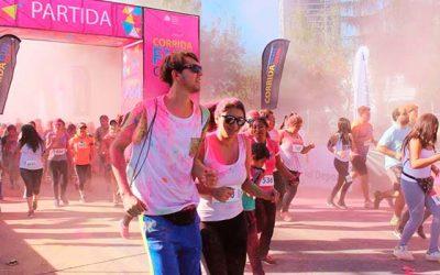 Más de tres mil personas participaron en la Corrida Fun Color IND Rancagua