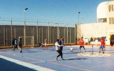Municipio de Rancagua lleva la alegría del deporte al centro penitenciario
