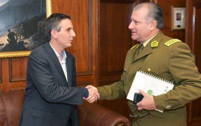 Municipio de Rancagua oficializa ofrecimiento de terreno para nueva unidad de Carabineros