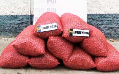 PDI detiene a sujeto que vendía nueces robadas por redes sociales