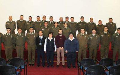Peritos de identificación forense del Labocar participan en capacitación del Registro Civil
