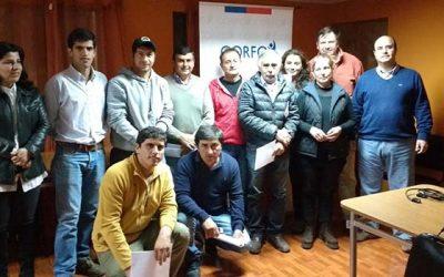 Productores de ajos de la Región participan del taller Gestión interna de ajo negro