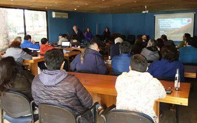 Programa de formación, capacitación y empleo de la Conaf realiza jornada de cierre en OHiggins