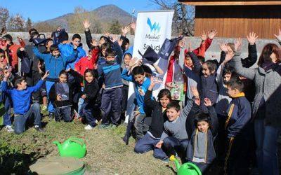Salud Machalí estimula el reciclaje en los alumnos de la escuela San Joaquín de los Mayos