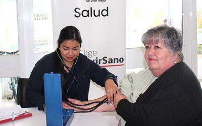 Salud Machalí sensibilizó a sus usuarios sobre hipertensión arterial