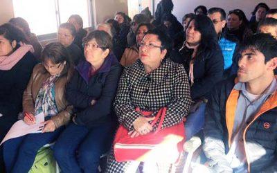 Senadis y Municipalidad de Olivar dictan charla para personas con discapacidad